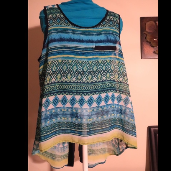 by & by Tops - By & By sleeveless Blouse